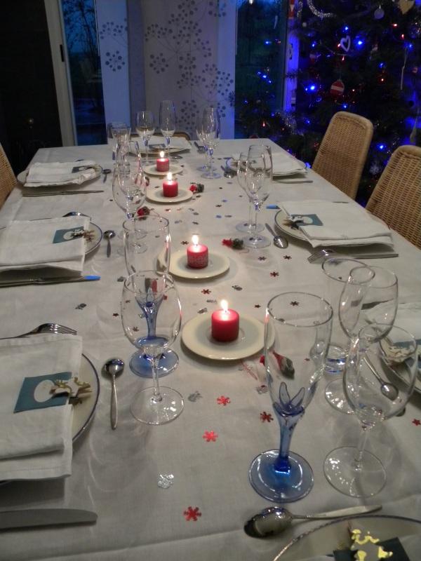 table réveillon 2012