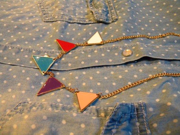 chemise - collier