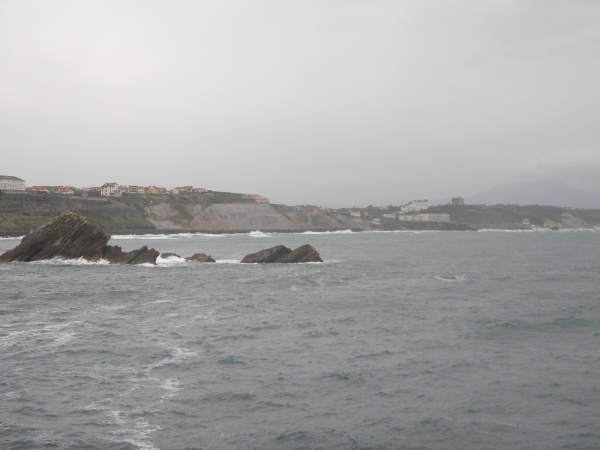 la plage de la Côte des Basques