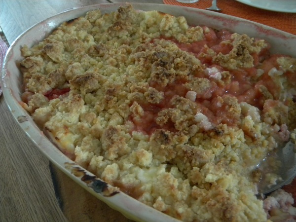 crumble fraises fromage blanc