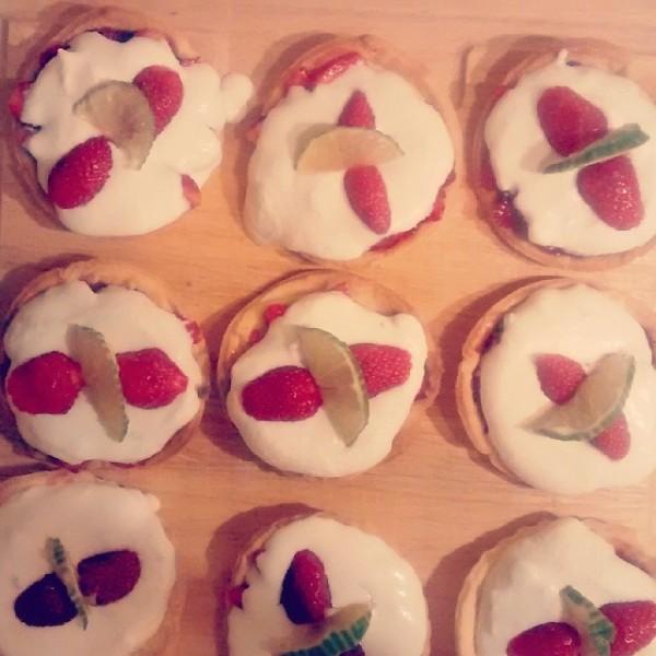 tartelettes fraise mascarpone