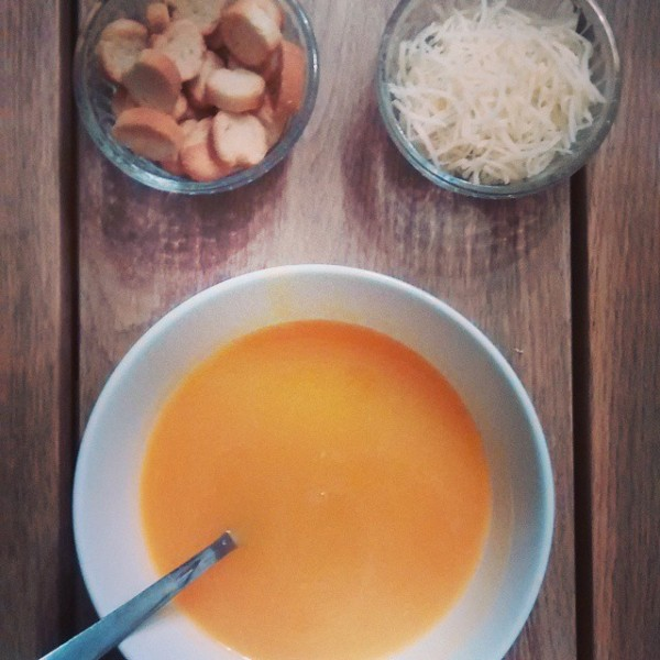 velouté courge butternut
